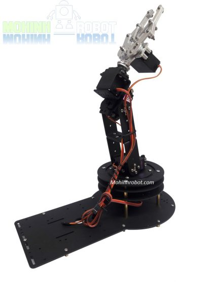 Cánh tay robot 4 bậc - Ổ bi xoay