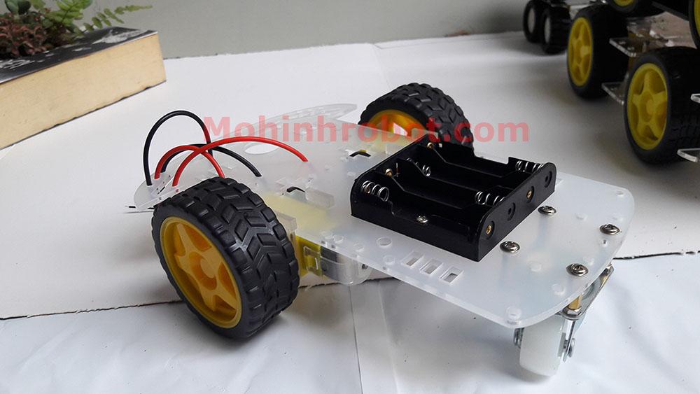 Khung xe robot 3 bánh mcia