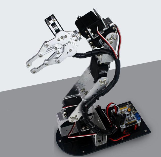 Cánh tay robot 5 bậc thông dụng