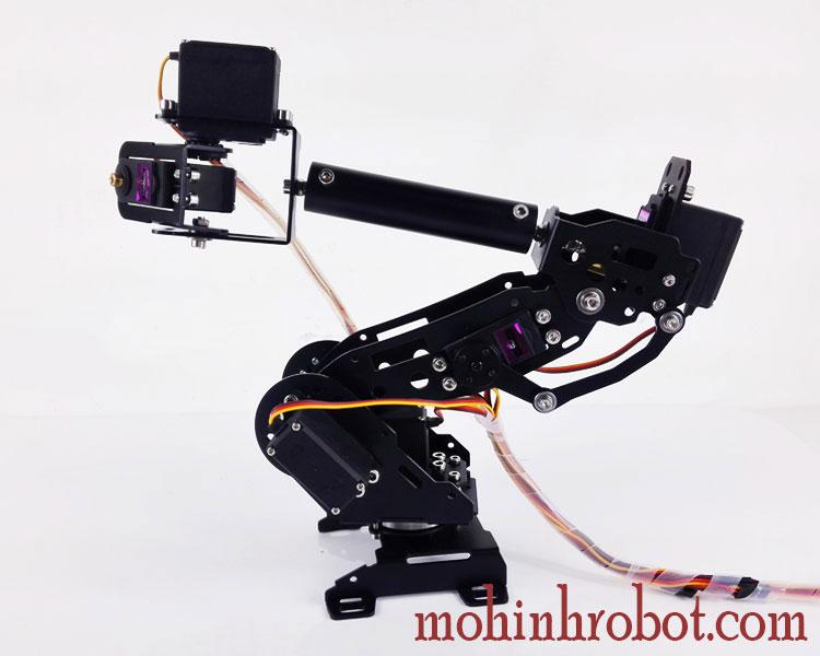 Cánh tay robot bậc tự do servo bánh răng kim loại giá