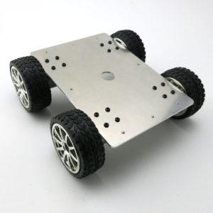 Khung xe robot kim loại DC370
