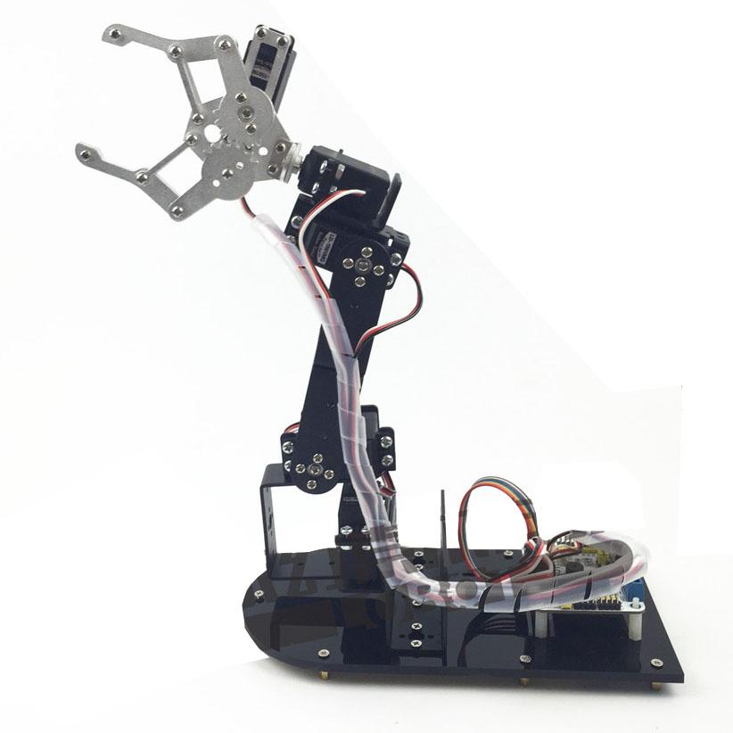 Cánh tay robot 4 bậc đơn giản