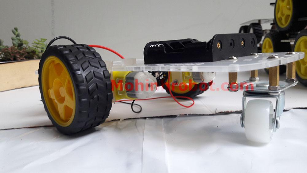 mua khung xe robot 3 banh