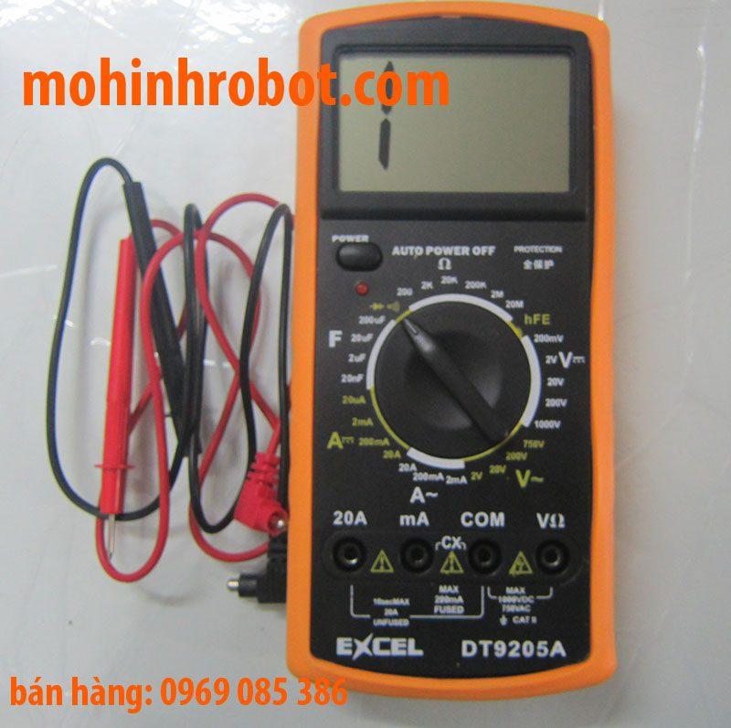 Hướng dẫn sử dụng đồng hồ vạn năng DT9205A