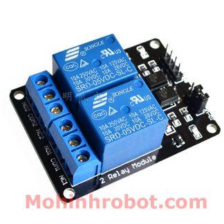 Module relay 2 kênh 5V