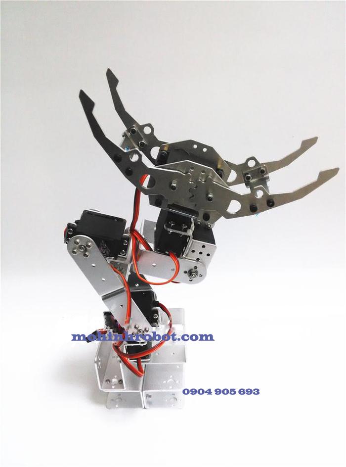 cánh tay robot 6 bậc