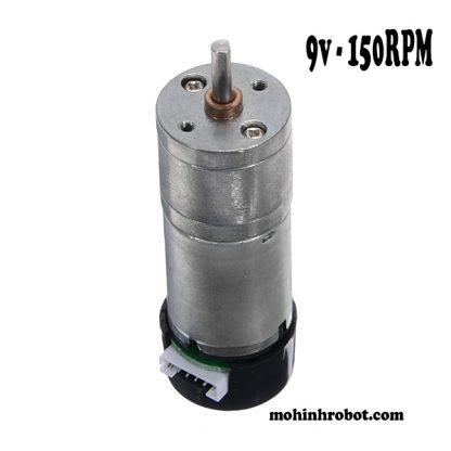 Động cơ encoder 9v - 150RPM