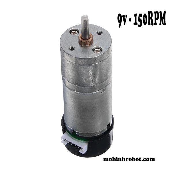 Động cơ encoder 9v – 150RPM