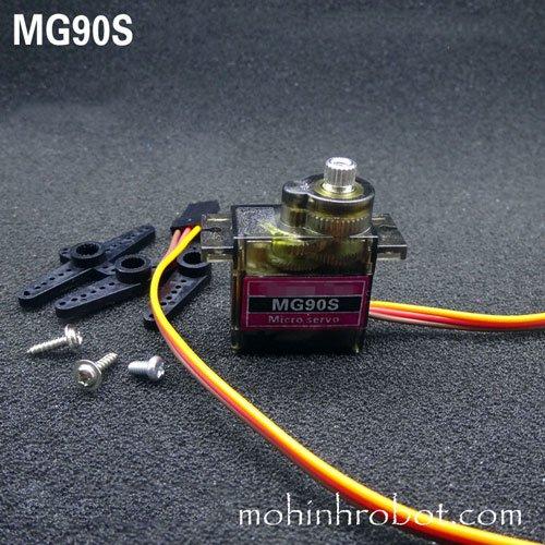 Động cơ servo MG90s bánh răng kim loại