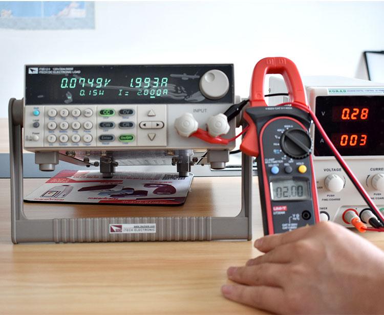 Chức năng đo dòng điện DC - đồng hồ kẹp dòng UT204A