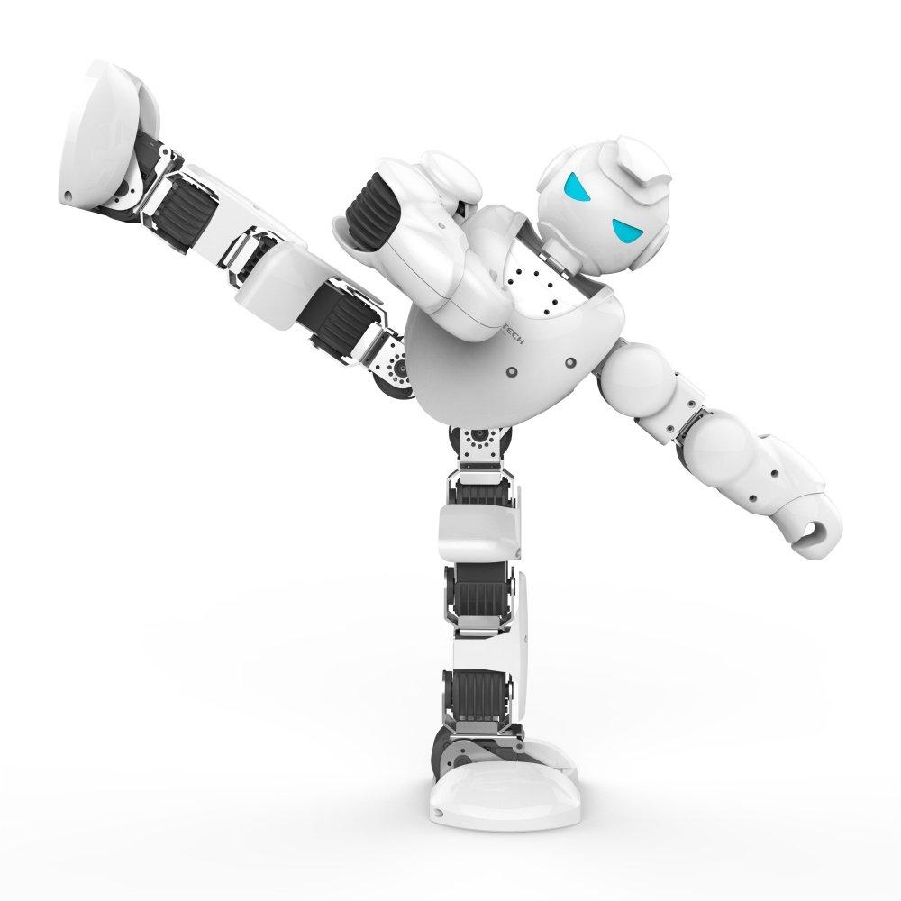 vận động linh hoạt của robot người   Alpha 1S UBTECH