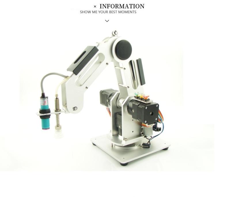 Cánh tay robot công nghiệp 3 trục